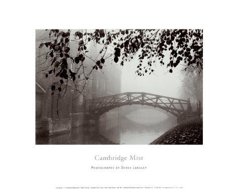 Cambridge Mist Art Print
