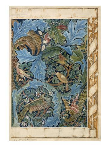 Design for Tapestry Lámina giclée