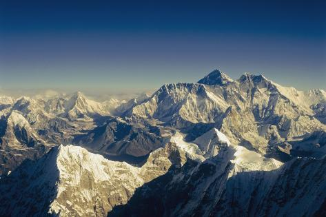 View from Everest Photographic Print