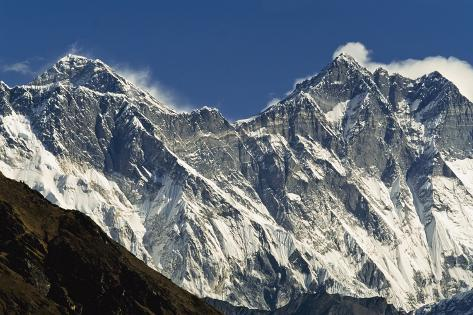 View of Everest Photographic Print