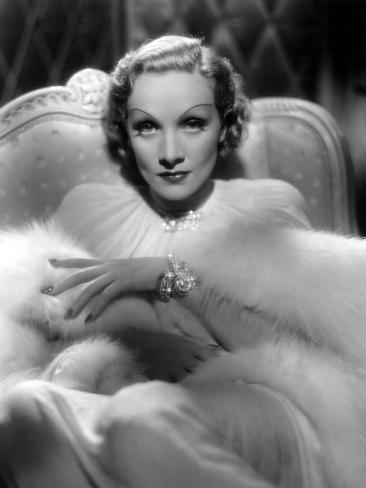 Desire, Marlene Dietrich, 1936 Photo