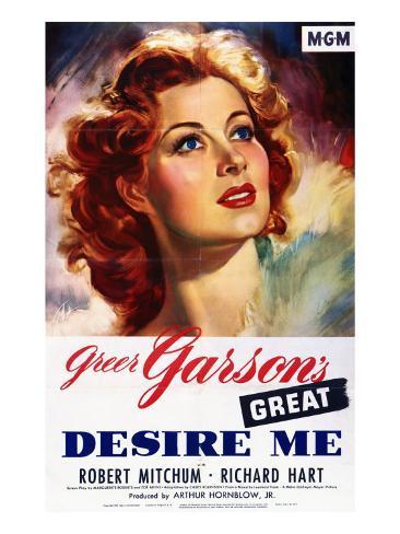 Desire Me, Greer Garson, 1947 Photo