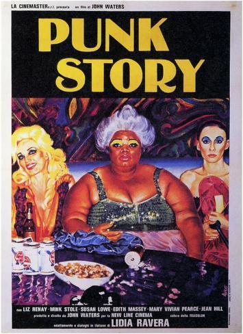Desperate Living, (aka Punk Story), 1977 Masterprint