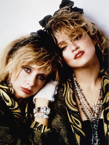 Desperately Seeking Susan, Rosanna Arquette, Madonna, Directed by Susan Seidelman 1985 Photo