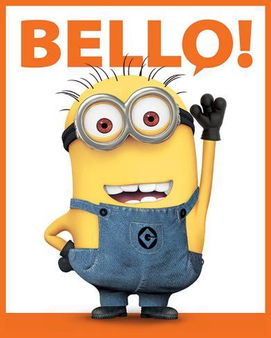 Despicable Me 2 - Bello Mini Poster
