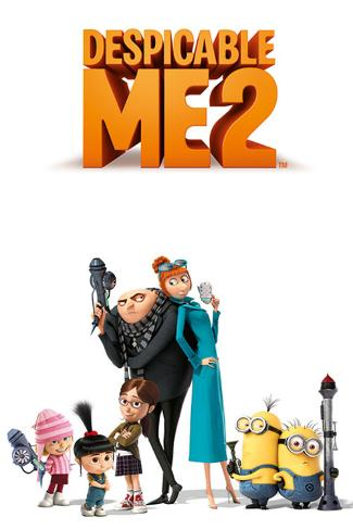 Despicable Me 2 Characters Poster