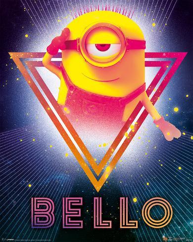 Despicable Me 3 - 80's Bello Mini Poster