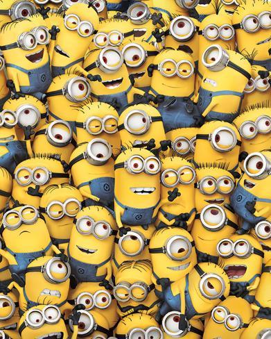 Despicable Me - Many Minions Mini poster