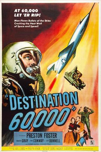 Destination 60,000 Art Print