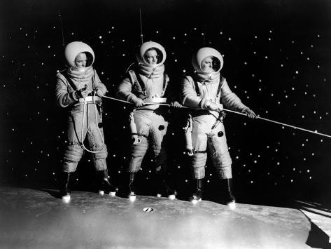 Destination Moon, Dick Wesson, John Archer, Warner Anderson, 1950 Photo
