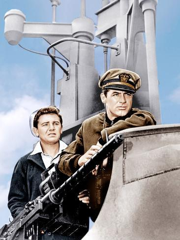 Destination Tokyo, John Garfield, Cary Grant, 1943 Photo