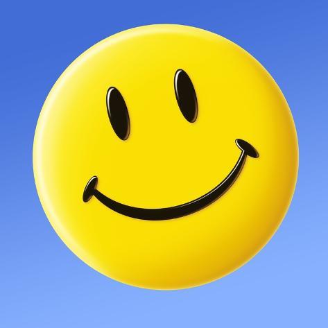smiley face symbol photographic print by detlev van ravenswaay at