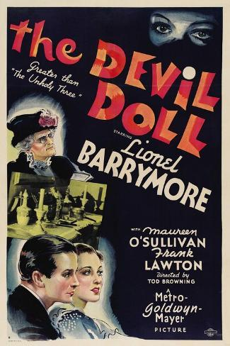 Devil Doll, 1936 (The Devil Doll) Giclee Print