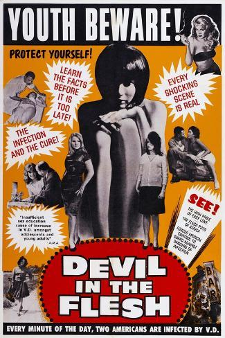 Devil in the Flesh, 1967 Art Print