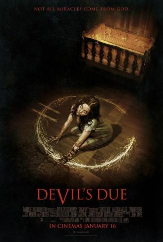 Devil's Due Double-sided poster