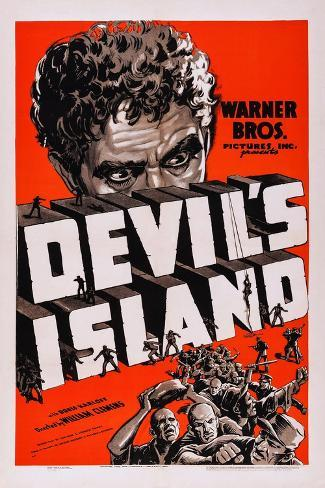 Devil's Island Art Print