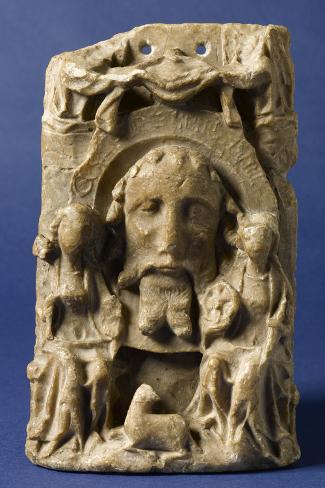 Devotional Panel of John the Baptist Lámina giclée