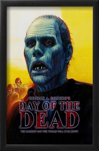Dia dos Mortos Impressão artística emoldurada