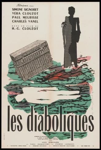 Diabolique - French Style Poster