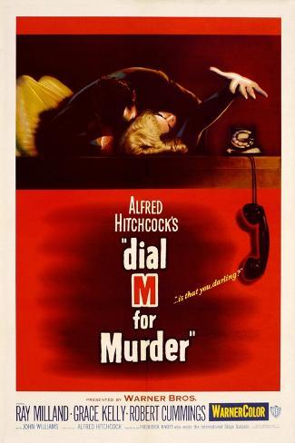 Dial M for Murder [1954], Directed by Alfred Hitchcock. Giclee Print