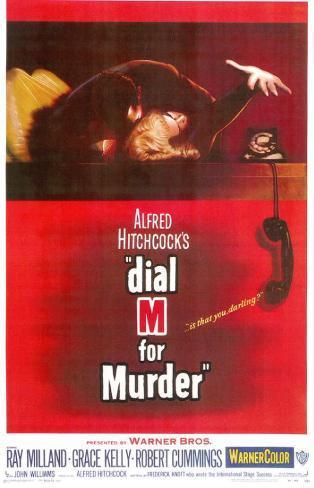 Dial M For Murder, 1954 Masterprint