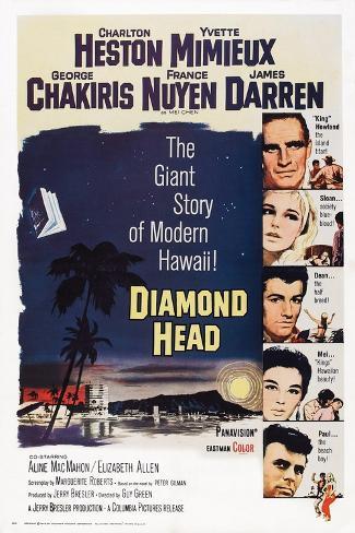 Diamond Head, 1963 Art Print