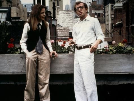 Diane Keaton and Woody Allen Annie Hall 1977 Directed by Woody Allen 写真
