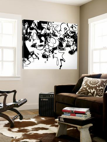 Black 3 Loft Art