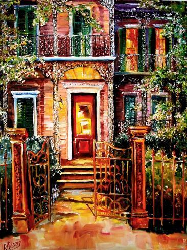 Garden District Gate Art Print