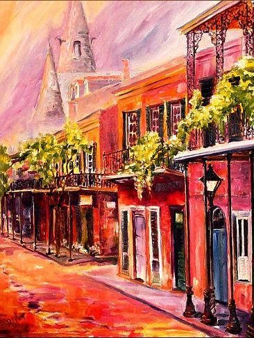 Spring In New Orleans Art Print
