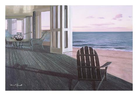 Beach house prints by diane romanello at for Beach house prints