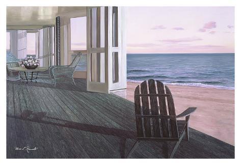 Beach house prints by diane romanello for Beach house prints