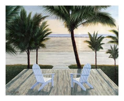Palm Beach Retreat Art Print