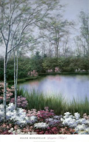 Springtime Melody I Art Print