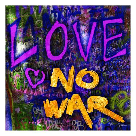 Graffiti Love Art Print