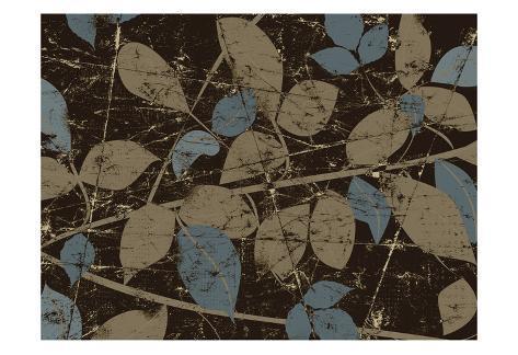 Leafy Beautiful Art Print