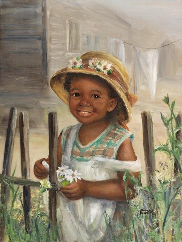 Little Girl Stampa giclée