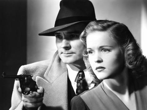 Dick Tracy's Dilemma, Ralph Byrd, Kay Christopher, 1947 Photo