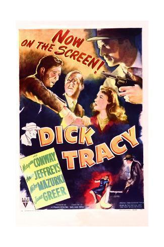 Dick Tracy Konstprint