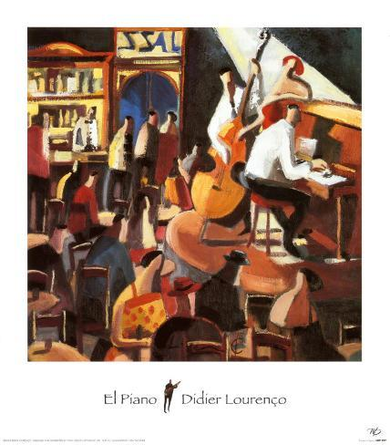 El Piano Art Print