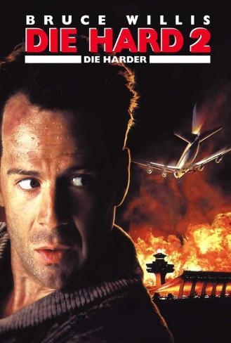 Die Hard 2: Die Harder - German Style Poster