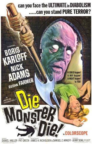 Die, Monster, Die! Masterprint