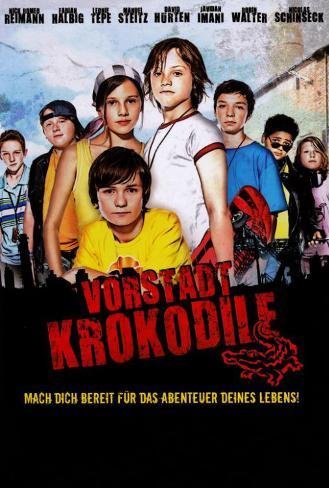 Die Vorstadtkrokodile (TV) - German Style Poster