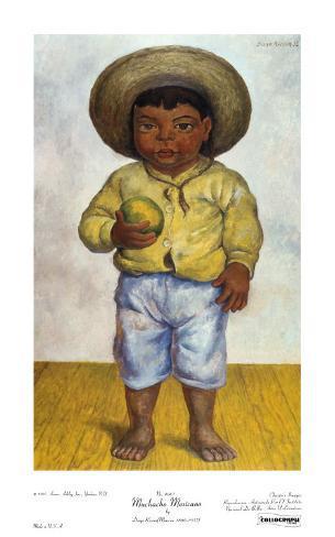 Muchacho Mexicano Art Print