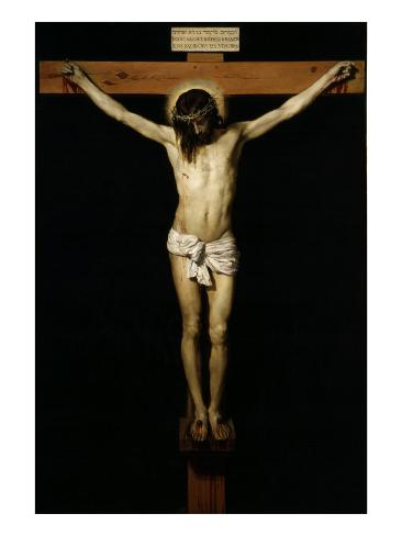 Cristo Crucificado (Christ on the Cross) Giclee Print
