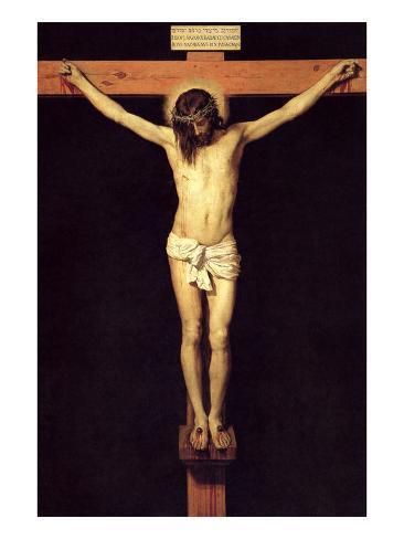 Crucified Christ Lámina