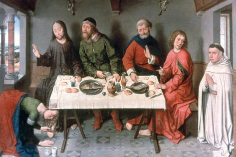Christ in the House of Simon, 1440'S Giclée-vedos
