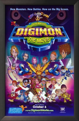 Digimon: The Movie Framed Art Print