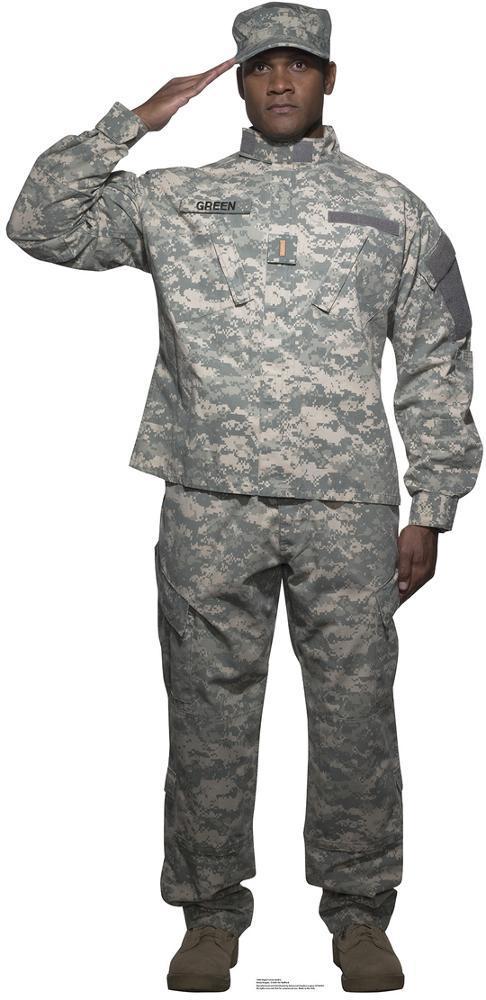 Digital Camo Soldier Lifesize Standup Cardboard Cutouts Allposters Com