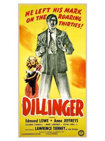 Dillinger, 1934 Art Print